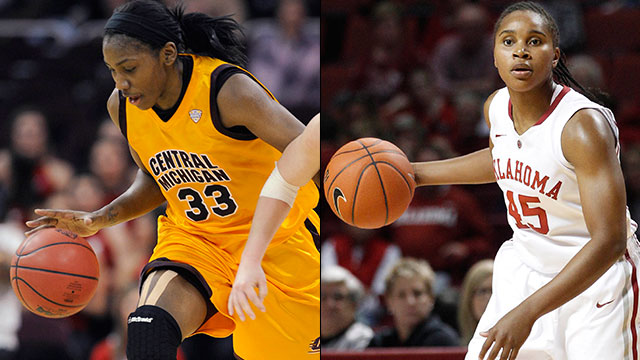 #11 Central Michigan vs. #6 Oklahoma (First Round): 2013 NCAA Women's Basketball Championship