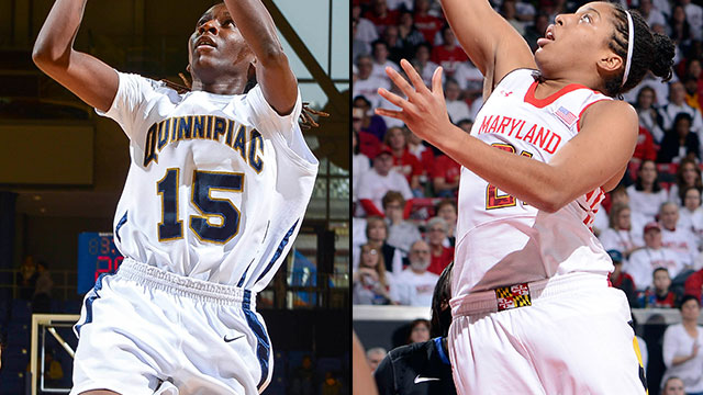 #13 Quinnipiac vs. #4 Maryland (First Round): 2013 NCAA Women's Basketball Championship