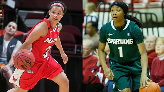 #12 Marist vs. #5 Michigan State (First Round): 2013 NCAA Women's Basketball Championship