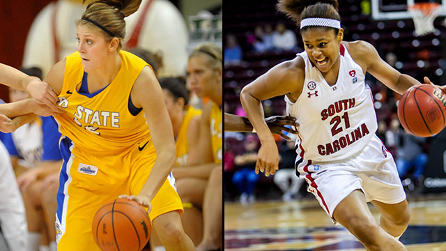 #13 South Dakota State vs. #4 South Carolina (First Round): 2013 NCAA Women's Basketball Championship