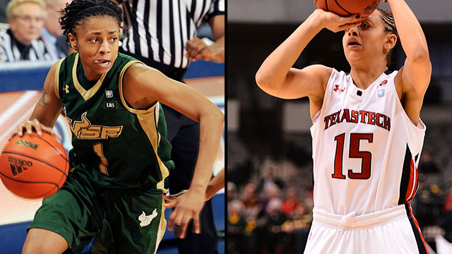 #10 South Florida vs. #7 Texas Tech (First Round): 2013 NCAA Women's Basketball Championship