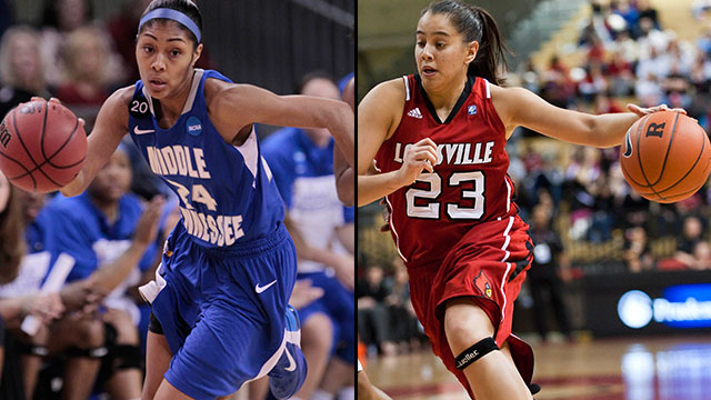 #12 Middle Tennessee vs. #5 Louisville (First Round): 2013 NCAA Women's Basketball Championship
