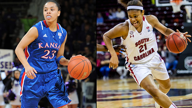 #12 Kansas vs. #4 South Carolina (Second Round): 2013 NCAA Women's Basketball Championship