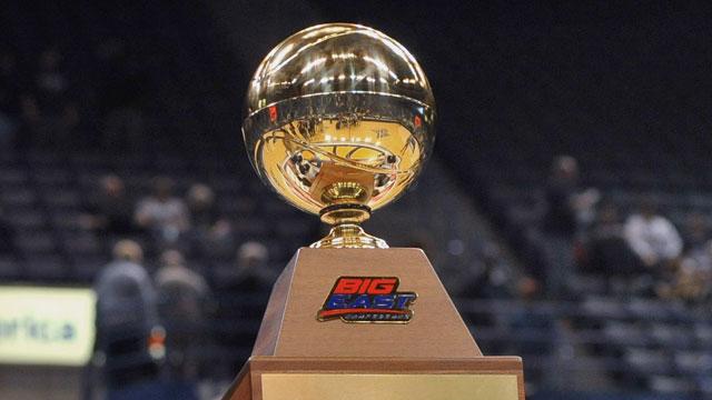 Big East Women's Basketball Championship Trophy Presentation