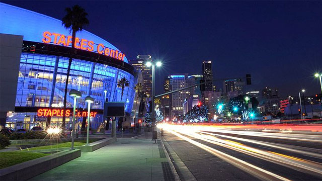 Staples Center Switch: Lakers-Clippers