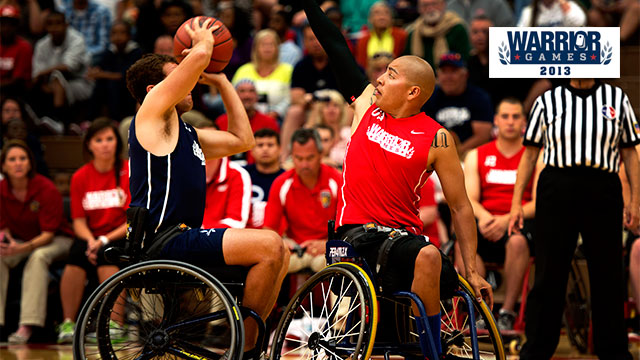 2013 Warrior Games: Gold Medal Wheelchair Basketball Game