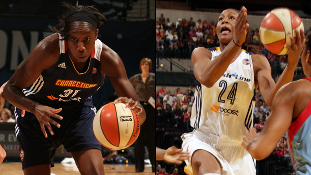 Connecticut Sun vs. Indiana Fever