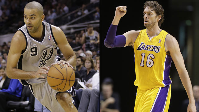 San Antonio Spurs vs. Los Angeles Lakers (re-air)