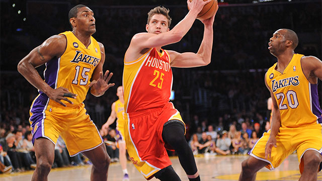 Houston Rockets vs. Los Angeles Lakers (re-air)