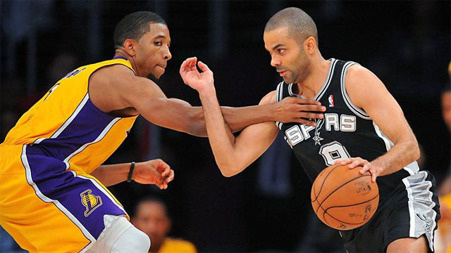 San Antonio Spurs vs. Los Angeles Lakers (First Round, Game 3) (re-air)