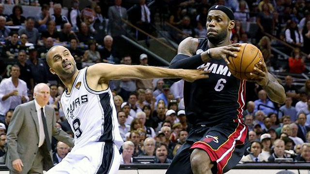 Miami Heat vs. San Antonio Spurs (The Finals - Game 4)
