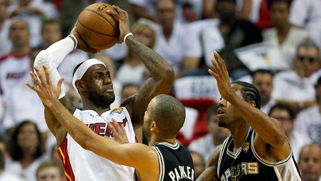 San Antonio Spurs vs. Miami Heat (The Finals - Game 7) (re-air)