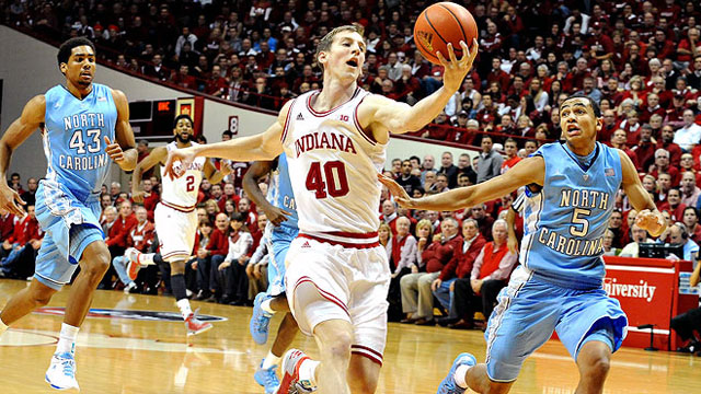 #14 North Carolina vs. #1 Indiana: ACC/Big Ten Challenge