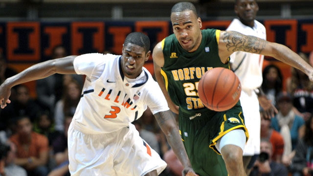 Norfolk State vs. #10 Illinois (Exclusive)