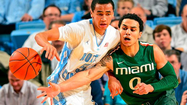 Miami (FL) vs. North Carolina