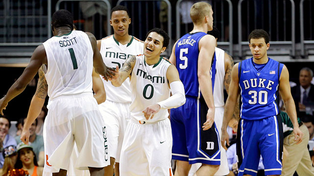 #1 Duke vs. #25 Miami (FL)