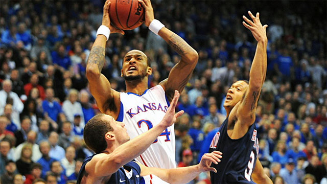 Richmond vs. #9 Kansas: Holiday Hoops