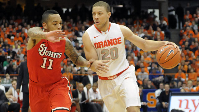 St. John's vs. #9 Syracuse