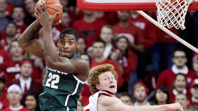 #13 Michigan State vs. Wisconsin
