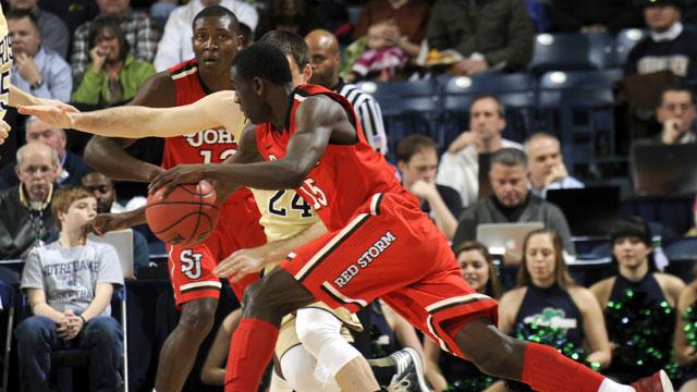 St. John's vs. #24 Notre Dame