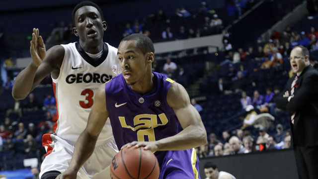 LSU vs. Georgia (Second Round, Game 1): SEC Men's Basketball Tournament
