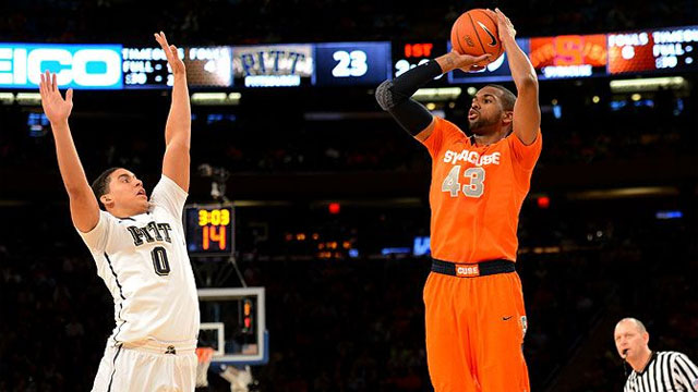 #19 Syracuse vs. #17 Pittsburgh (Quarterfinal #2): BIG EAST Men's Basketball Championship