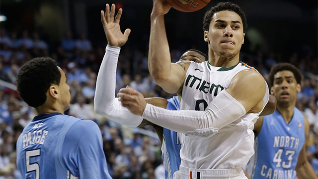 North Carolina vs. #9 Miami (FL) (Championship): ACC Men's Basketball Tournament