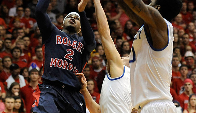 #8 Robert Morris vs. #1 Kentucky (First Round): 2013 NIT