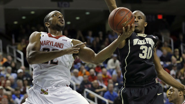 Wake Forest vs. Maryland (First Round, Game 3): ACC Men's Basketball Tournament