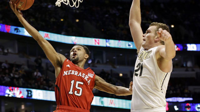 Nebraska vs. Purdue (First Round, Game 3): Big Ten Men's Basketball Tournament