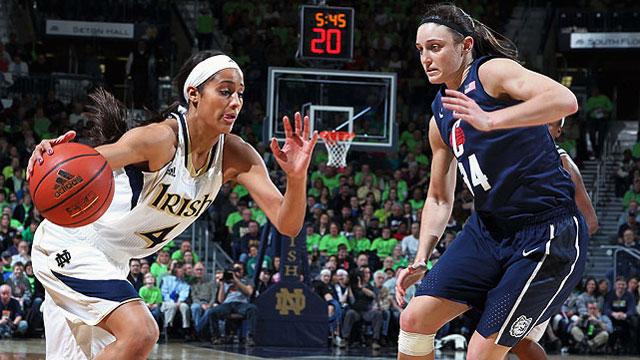 #3 Connecticut vs. #2 Notre Dame