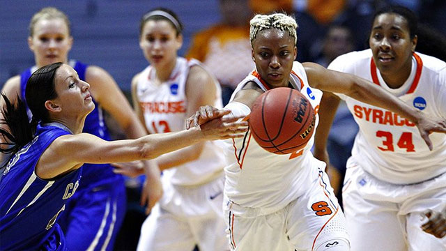 Creighton vs. Syracuse (First Round): 2013 NCAA Women's Basketball Championship