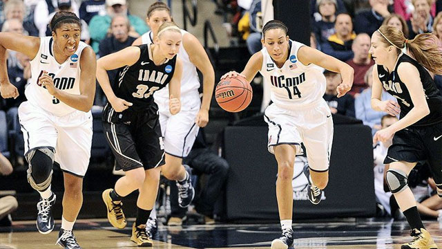 #16 Idaho vs. #1 Connecticut (First Round): 2013 NCAA Women's Basketball Championship