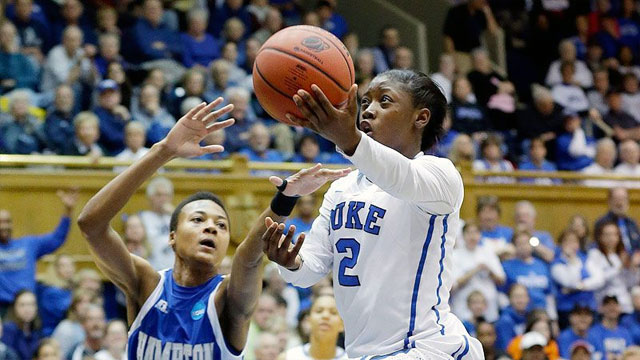 #15 Hampton vs. #2 Duke (First Round): 2013 NCAA Women's Basketball Championship