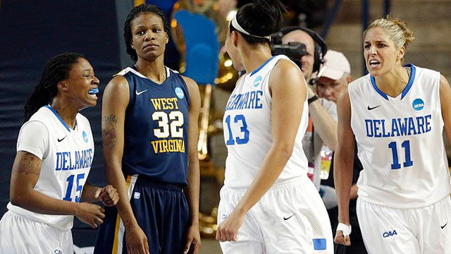 #11 West Virginia vs. #6 Delaware (First Round): 2013 NCAA Women's Basketball Championship