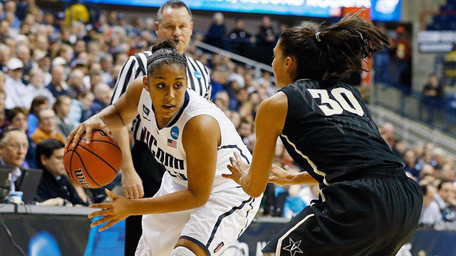 #8 Vanderbilt vs. #1 Connecticut (Second Round): 2013 NCAA Women's Basketball Championship