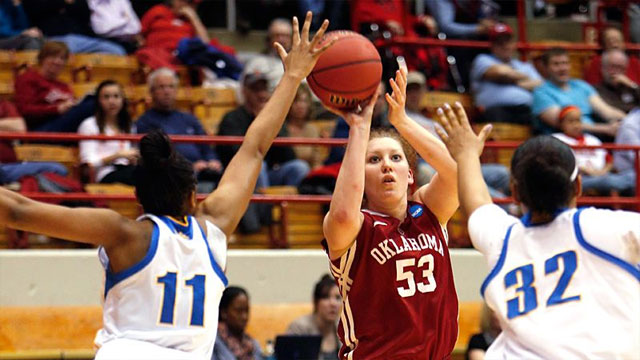 #6 Oklahoma vs. #3 UCLA (Second Round): 2013 NCAA Women's Basketball Championship