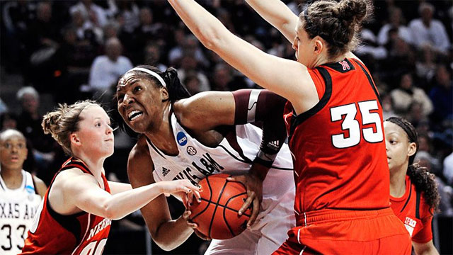 #6 Nebraska vs. #3 Texas A&M (Second Round): 2013 NCAA Women's Basketball Championship