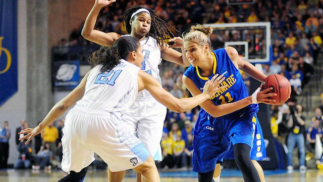 #6 Delaware vs. #3 North Carolina (Second Round): 2013 NCAA Women's Basketball Championship