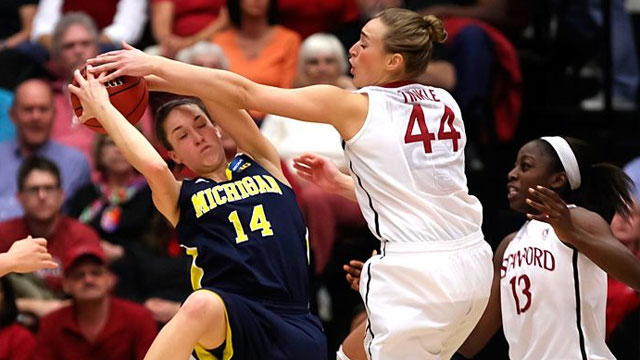 #8 Michigan vs. #1 Stanford (Second Round): 2013 NCAA Women's Basketball Championship