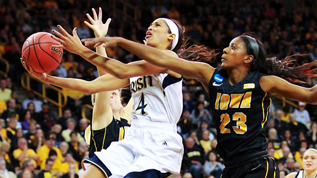 #9 Iowa vs. #1 Notre Dame (Second Round): 2013 NCAA Women's Basketball Championship