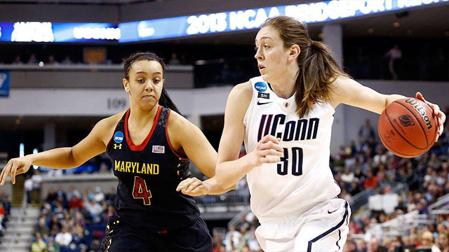 #4 Maryland vs. #1 Connecticut (Regional Semifinal #2): 2013 NCAA Women's Basketball Championship