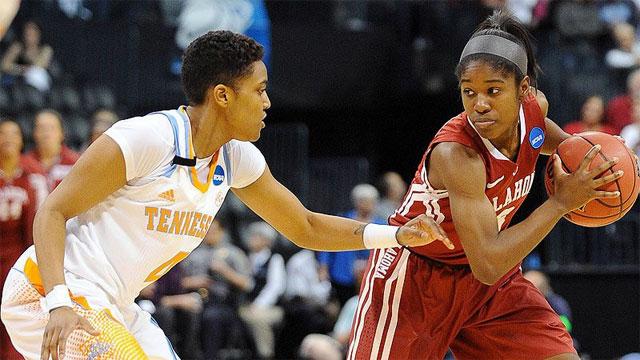 #6 Oklahoma vs. #2 Tennessee (Regional Semifinal #1): 2013 NCAA Women's Basketball Championship