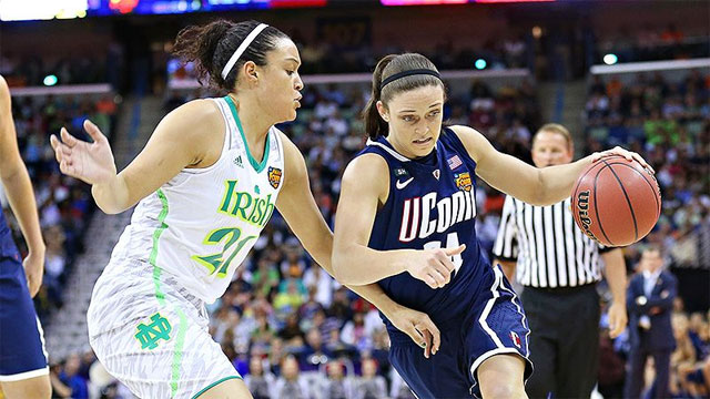 #1 Connecticut vs. #1 Notre Dame (National Semifinal #2): 2013 NCAA Women's Basketball Championship