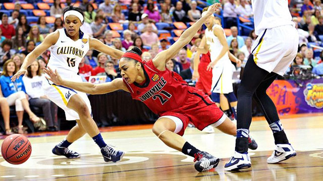 #5 Louisville vs. #2 California (National Semifinal #1): 2013 NCAA Women's Basketball Championship