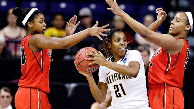 #4 Georgia vs. #2 California (Regional Final): 2013 NCAA Women's Basketball Championship