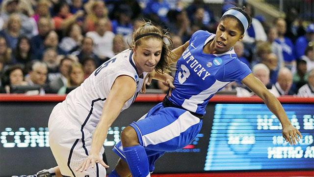 #2 Kentucky vs. #1 Connecticut (Regional Final): 2013 NCAA Women's Basketball Championship