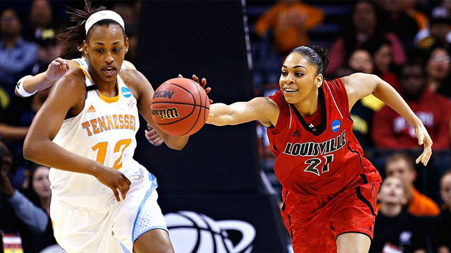 #5 Louisville vs. #2 Tennessee (Regional Final): 2013 NCAA Women's Basketball Championship