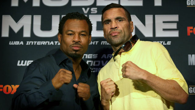 Shane Mosley vs. Anthony Mundine