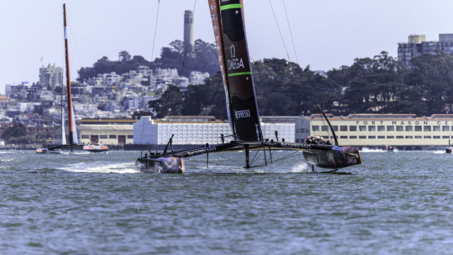 Louis Vuitton Cup: Finals (Race 6)